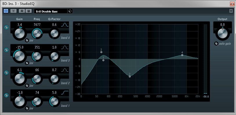 Pimp My Drums - Studio-EQ (Equalizer)