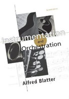 Instrumentation and Orchestration - Alfred Blatter