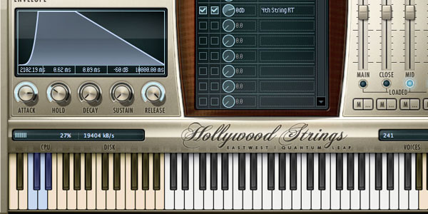 EWQL Hollywood Strings
