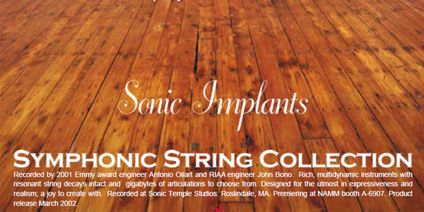 SONiVox - Symphonic String Collection